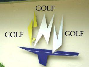 pour le golf